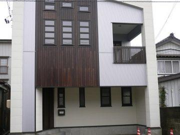 長岡市「2階リビングの家」