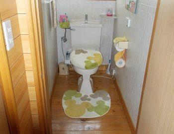 長岡市I様邸トイレ改装工事 トイレ工事①施工前