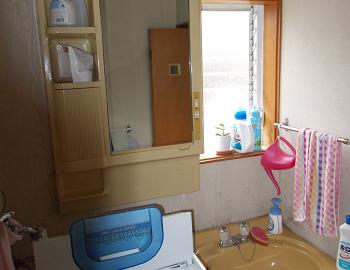 施工前 洗面室