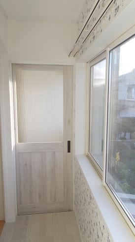 長岡市 M邸 子供部屋改装工事 施工後:ベランダ
