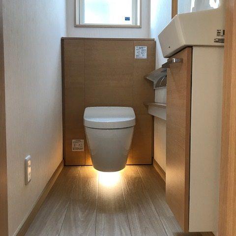No.13 長岡市「2世代同居住宅」新築工事1階トイレ